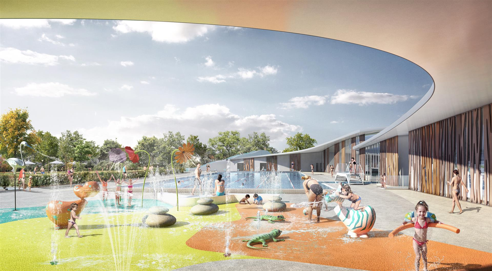 La nouvelle piscine du carrousel les grands projets for Piscine quetigny